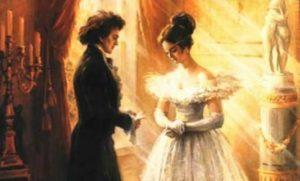 Я вас любил: любовь еще, быть может…
