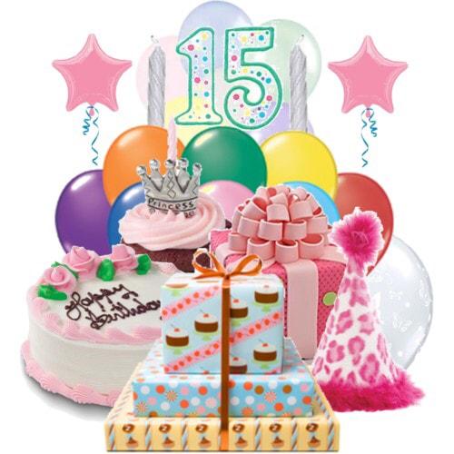 Открытки с днем рождения с девушками 15 лет