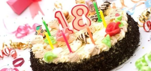 с днём рождения 18 лет