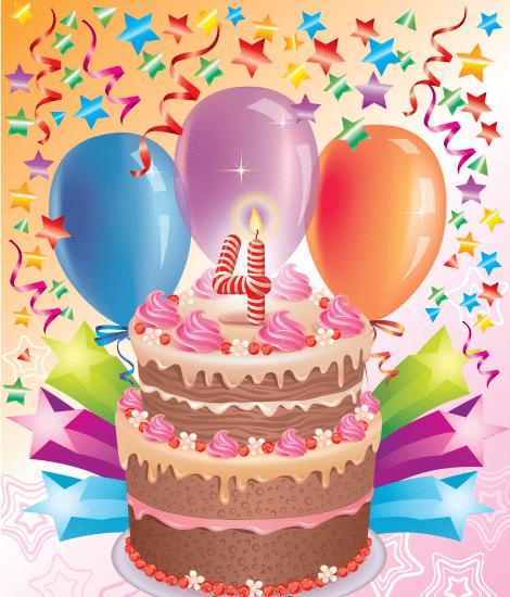 Поздравления ребенка с днем рождения девочке 4