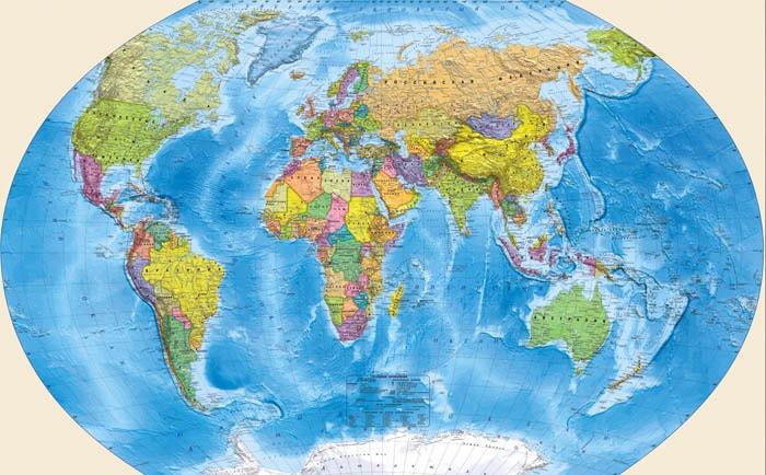 Загадки о географической карте