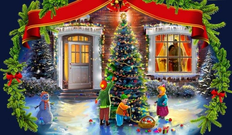 Короткие новогодние стихи для детей 2-5 лет