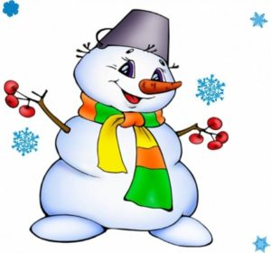 Короткие стихи про снеговика
