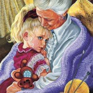 Внучка