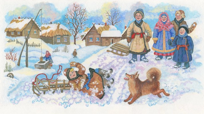 Детство - Иван Суриков